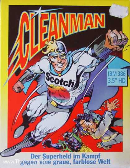 Misc. Games - Cleanman