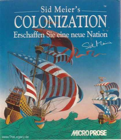 Misc. Games - Sid Meier's Colonization