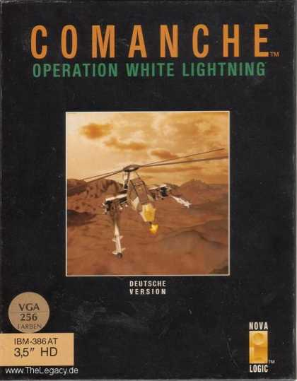 Misc. Games - Comanche: Operation White Lightning
