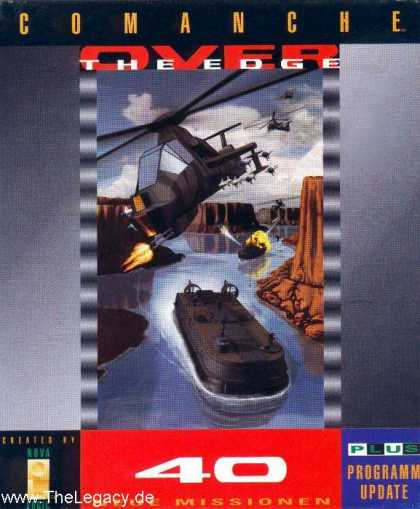 Misc. Games - Comanche: Over the Edge