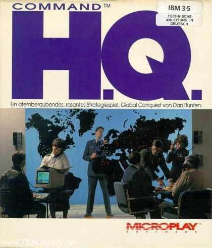 Misc. Games - Command H.Q.