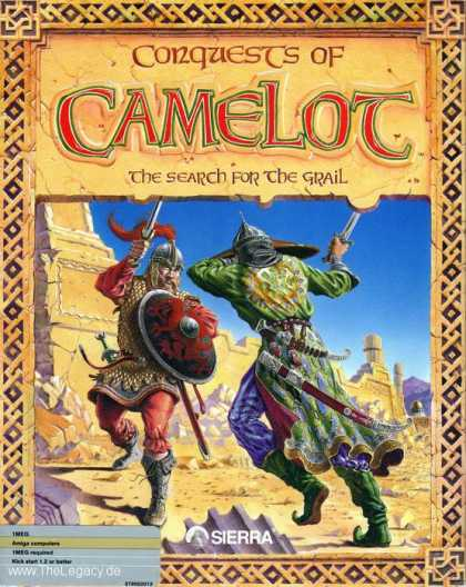 Misc. Games - Conquests of Camelot: The Search for the Grail