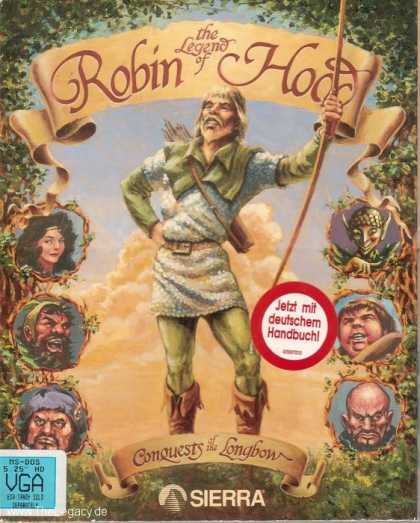 Misc. Games - Conquests of the Longbow: The Legend of Robin Hood