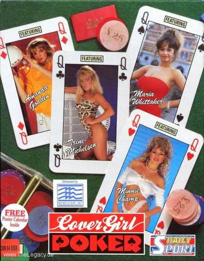 Misc. Games - Cover Girl Strip Poker