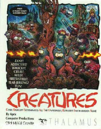 Misc. Games - Creatures - Clyde Radcliffe Exterminates All The Unfriendly Repulsive Earth-Ridd