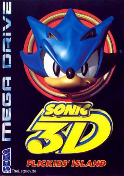 Misc. Games - Sonic 3D: Flickies Island