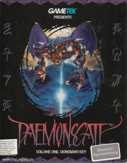 Misc. Games - Daemonsgate: Volume One Dorovan's Key