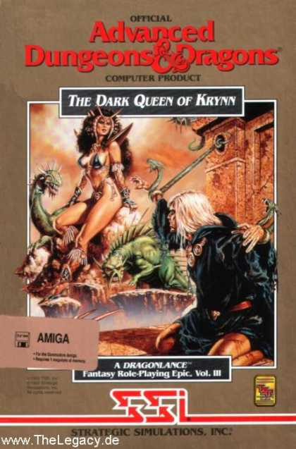 Misc. Games - Dark Queen of Krynn, The