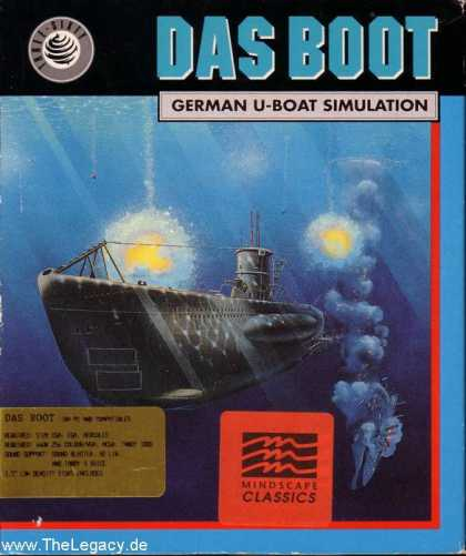 Misc. Games - Boot, Das: German U-Boat Simulation