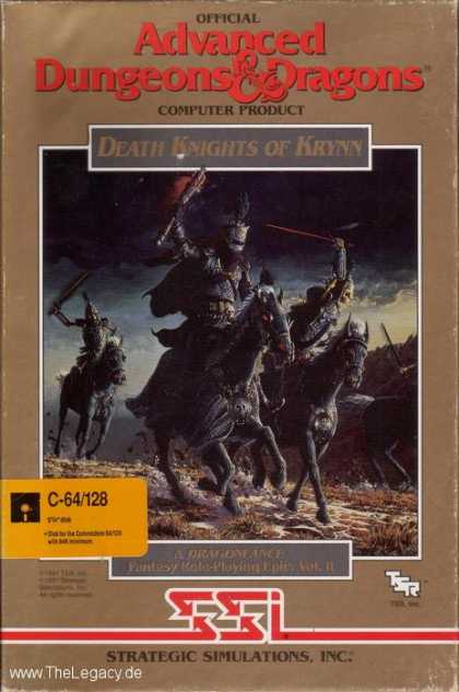 Misc. Games - Death Knights of Krynn