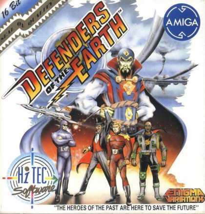 Misc. Games - Defenders of the Earth