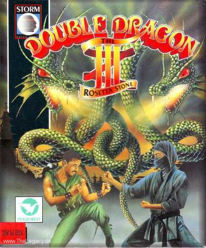 Misc. Games - Double Dragon III: The Rosetta Stone