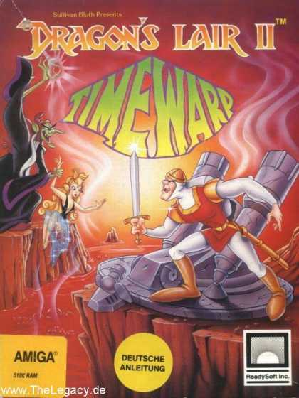 Misc. Games - Dragon's Lair II: Time Warp