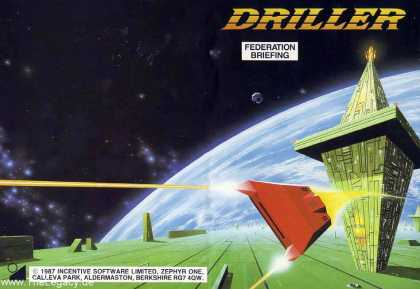 Misc. Games - Driller