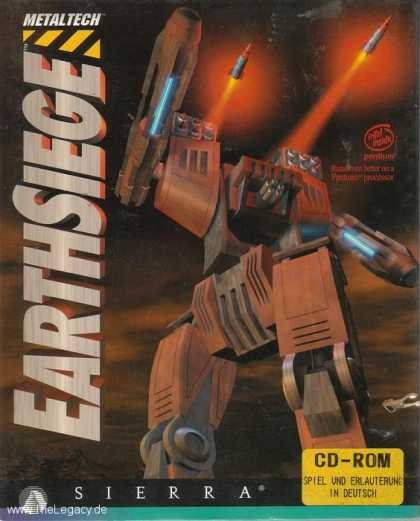 Misc. Games - Metaltech: Earthsiege