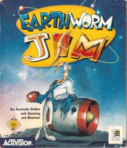 Misc. Games - Earthworm Jim