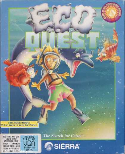 Misc. Games - EcoQuest: The Search for Cetus