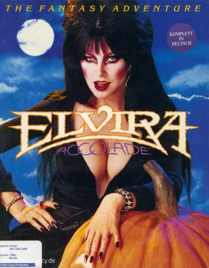 Misc. Games - Elvira: Mistress of the Dark