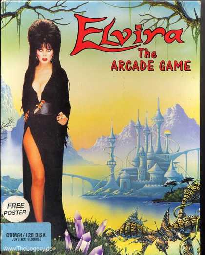 Misc. Games - Elvira: The Arcade Game