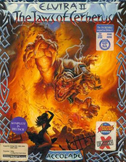 Misc. Games - Elvira II: The Jaws of Cerberus