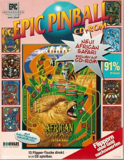 Misc. Games - Epic Pinball