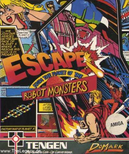 Misc. Games - Escape from the Planet of the Robot Monsters