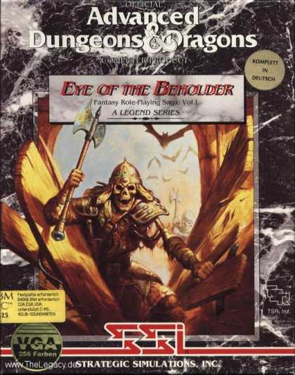 Misc. Games - Eye of the Beholder