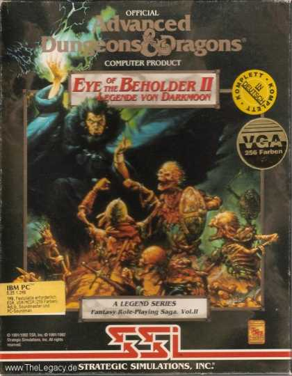 Misc. Games - Eye of the Beholder II: The Legend of Darkmoon