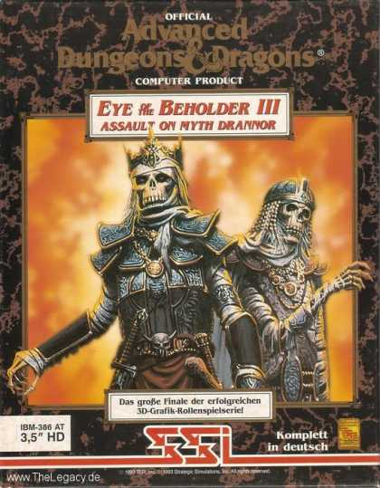 Misc. Games - Eye of the Beholder III: Assault of Myth Drannor