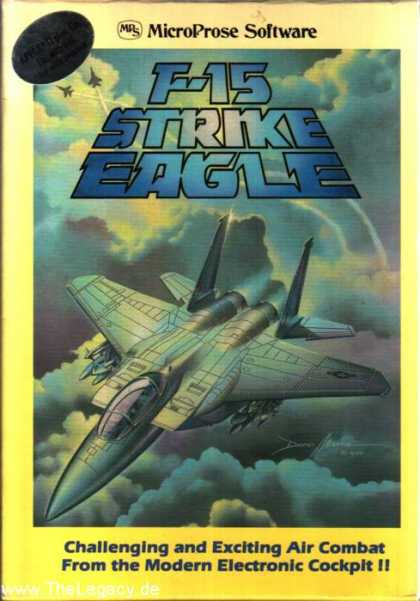 Misc. Games - F-15 Strike Eagle