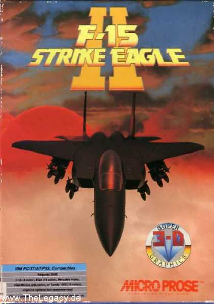 Misc. Games - F-15 Strike Eagle II