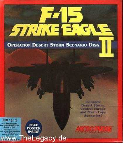Misc. Games - F-15 Strike Eagle II: Operation Desert Storm