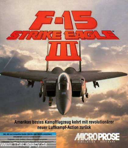 Misc. Games - F-15 Strike Eagle III