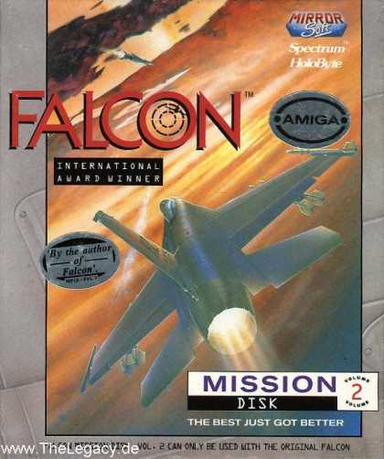 Misc. Games - Falcon: The F-16 Fighter Simulator -Mission Disk II-