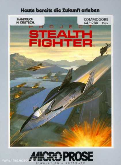 Misc. Games - Project Stealth Fighter