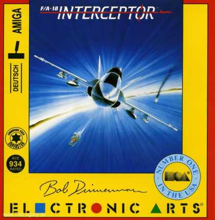 Misc. Games - F/A-18 Interceptor