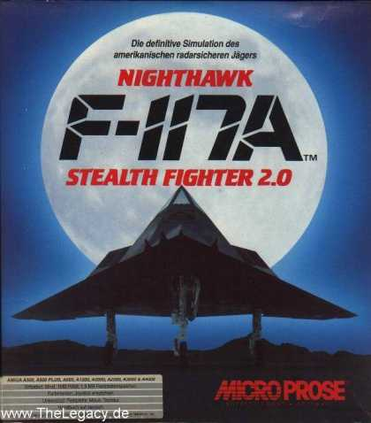Misc. Games - F-117A Nighthawk: Stealth Fighter 2.0