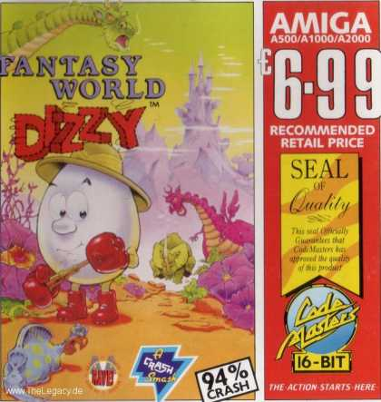 Misc. Games - Fantasy World Dizzy