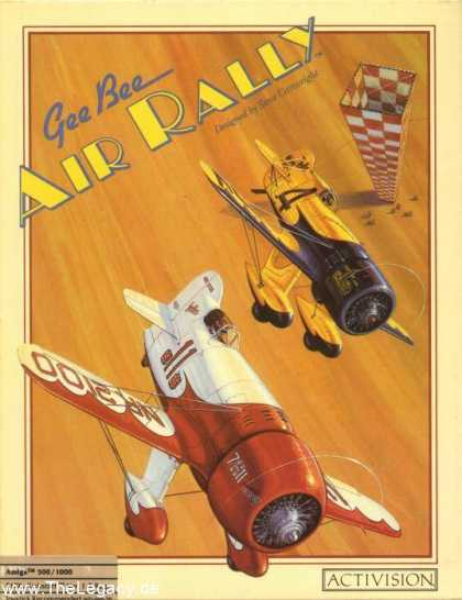 Misc. Games - Gee Bee Air Rally 1932