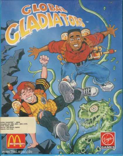 Misc. Games - Global Gladiators: Mick and Mack