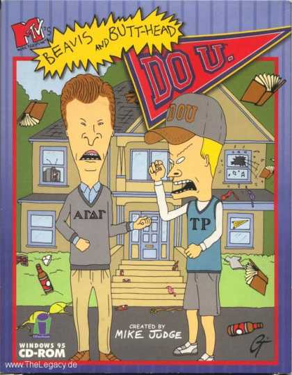 Misc. Games - Beavis and Butthead: Do U.
