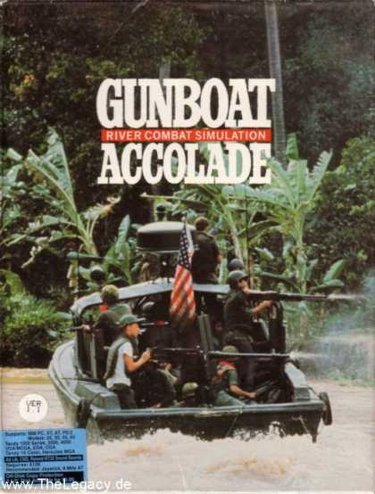 Misc. Games - Gunboat: River Combat Simulation