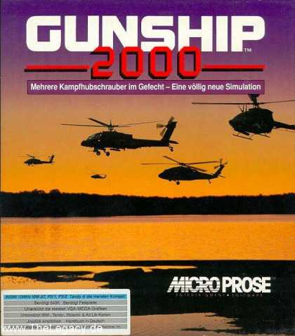 Misc. Games - Gunship 2000