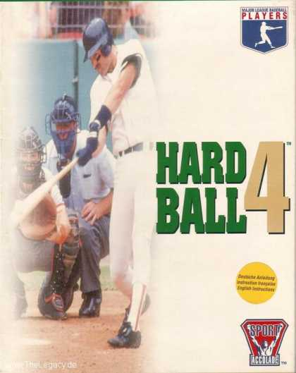 Misc. Games - HardBall 4