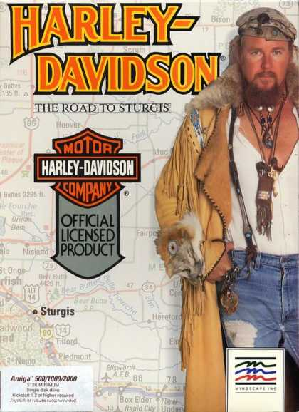 Misc. Games - Harley Davidson: The Road to Sturgis