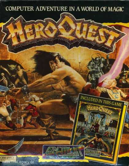 Misc. Games - Hero Quest