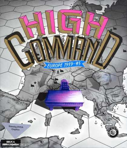 Misc. Games - High Command: Europe 1939-45