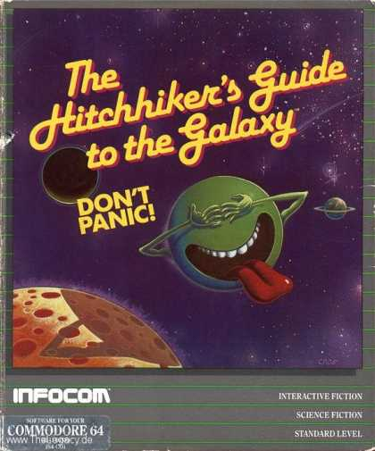 Misc. Games - Hitchhiker's Guide to the Galaxy, The