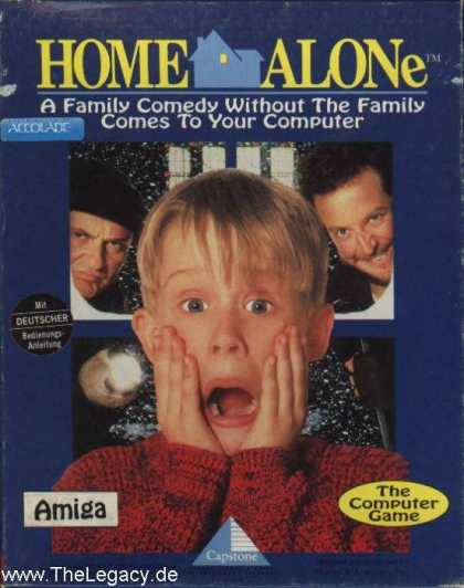 Misc. Games - Home Alone: The Computer Game