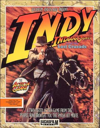 Misc. Games - Indiana Jones and the Last Crusade: The Action Game